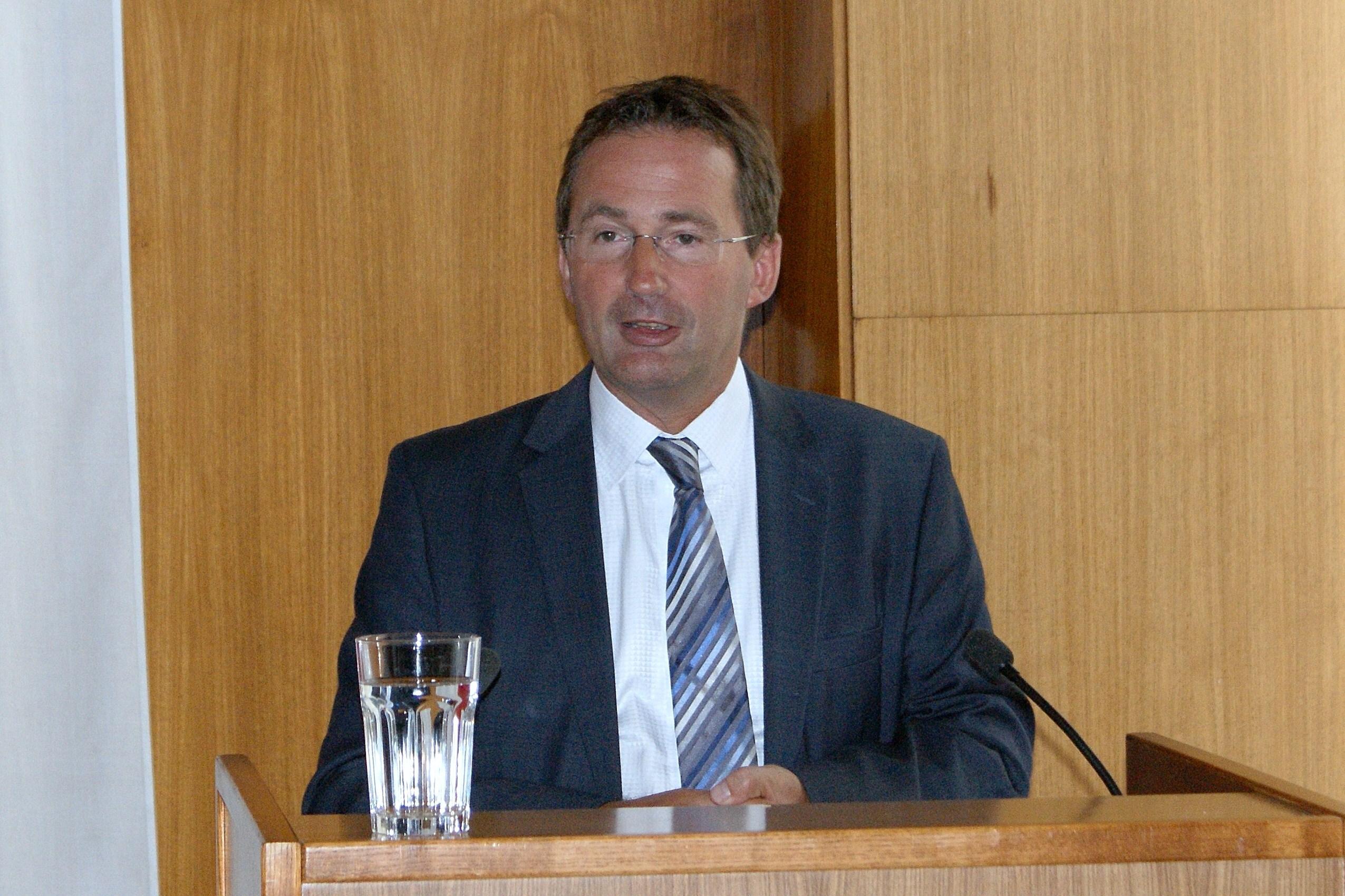 Wiens Landespolizeipräsident Dr. Gerhard Pürstl