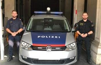 Wiener Polizei-Zwillinge retteten Leben