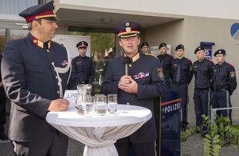 Eröffnung einer neuen Polizeiinspektion in Floridsdorf