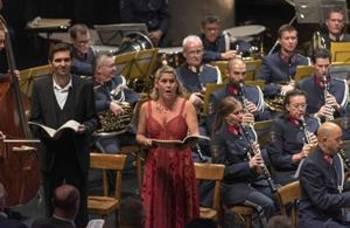 Musikalische Genüsse beim Abendkonzert der Polizeimusik
