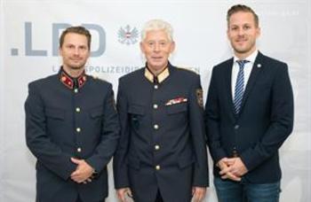 Zwei neue Jungoffiziere für Wien