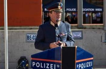 Große Leistungsschau der Wiener Polizei in der Rossauer Kaserne