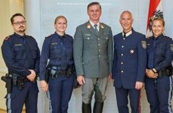 Start der berittenen Polizei in Wr. Neustadt