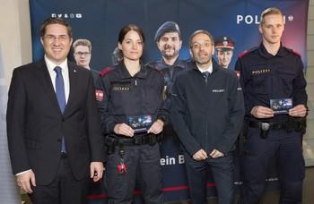 Mehr Polizistinnen und Polizisten für Österreich