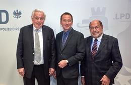 Hohe Ehrung für Präsident Adolf Wala und Generalsekretär Heinz Gehl