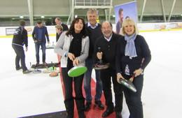 Ein Pokal für den sportlichen Einsatz
