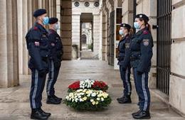 Gedenken an die im Dienst zu Tode gekommenen Polizistinnen und Polizisten