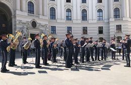 Polizeimusikkonzert im Herzen Wiens